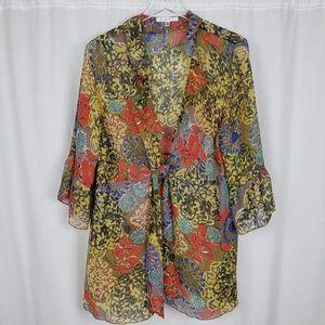 Cabi 360 Shakespeare Floral Kimono